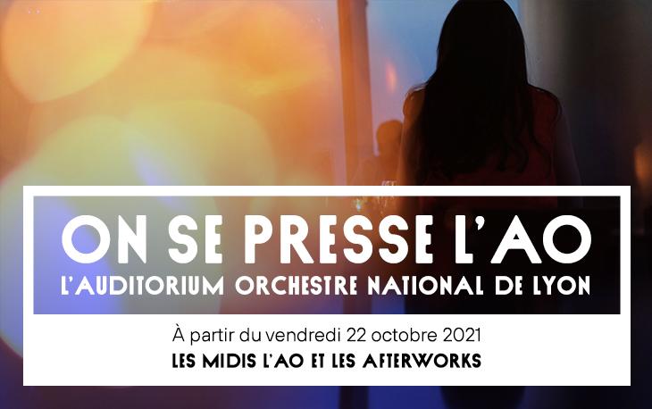 Lyon : les Midis de l'AO - Orchestre National de Lyon CP_MidisLAO