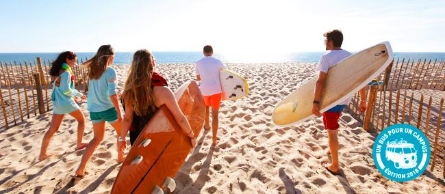 Vacances d'été pour les boursiers